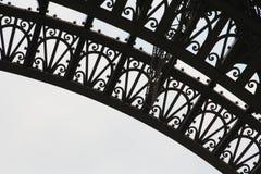 detaljeiffel torn Royaltyfri Bild