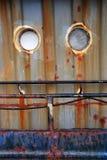 Detaljen av skeppet arkivbilder