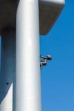 Detaljen av skulpturtornet behandla som ett barn vid David Cerny Royaltyfri Foto