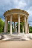 Detaljen av templet av förälskelse i Versailles Royaltyfri Foto