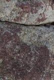 Detaljen av vaggar textur med en abstrakt sammansättning Royaltyfri Fotografi