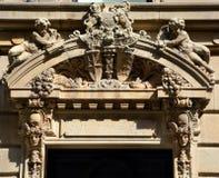 Detaljer av Art Nouveau Royaltyfri Foto