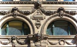 Detaljer av Art Nouveau Arkivbilder