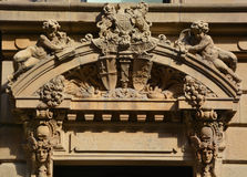 Detaljer av Art Nouveau Royaltyfria Bilder
