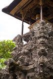 Detaljer av Balineserelikskrin Royaltyfria Bilder