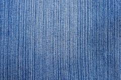 Detaljer av blå jean Arkivfoton