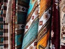 Detaljer av bosniska mattor Royaltyfri Fotografi