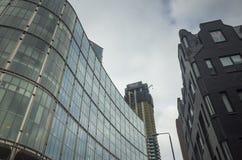 Detaljer av byggnader i London Royaltyfri Bild