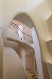 Detaljer av casaen Batllo Royaltyfri Fotografi