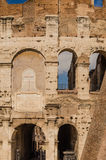 Detaljer av colosseumen Fotografering för Bildbyråer