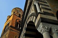 Detaljer av den Amalfi domkyrkan Royaltyfria Bilder