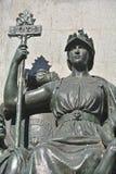 Detaljer av den Edward VII monumentet Arkivbilder