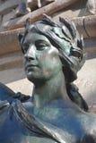 Detaljer av den Edward VII monumentet Arkivbild