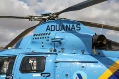 Detaljer av den Eurocopter AS-365N-3 dauphinen 2 royaltyfria foton