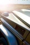 Detaljer av den moderna av-väg lyxbilen Fotografering för Bildbyråer