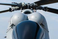 Detaljer av den ryska experimentella passagerarehelikoptern Royaltyfria Foton