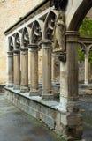 Detaljer av den Santa Maria la Real kyrkan på Olite Arkivbilder