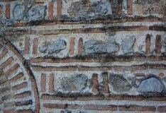 Detaljer av den StSophia kyrkan i Ohrid Royaltyfri Foto