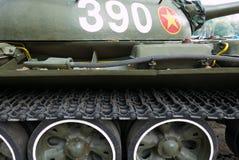 Detaljer av den vietnamesiska tappningbehållaren - crawlsimmare i Saigon arkivfoto