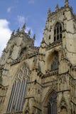 Detaljer av den York domkyrkan som kallas också York domkyrka arkivfoto