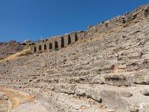 Detaljer av det gammalt fördärvar på Pergamum Royaltyfri Fotografi