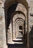 Detaljer av det gammalt fördärvar på Pergamum Royaltyfria Bilder