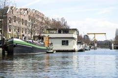 Detaljer av det stads- landskapet i Amsterdam Royaltyfria Bilder