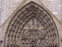 Detaljer av domkyrkan av Notre Dame Royaltyfri Bild