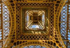 Detaljer av Eiffeltorn arkivfoto