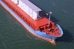 Detaljer av en fraktbåt Royaltyfri Bild