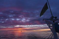 Detaljer av en seglingship royaltyfri fotografi