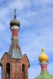 Detaljer av kupolerna Fotografering för Bildbyråer