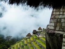 Detaljer av Machu Picchu Royaltyfri Bild