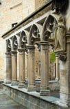 Detaljer av Santa Maria la Real på Olite Fotografering för Bildbyråer