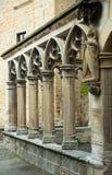 Detaljer av Santa Maria la Real på Olite Royaltyfri Bild