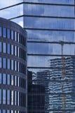 Detaljer av skyskraporna på Istanbul Fotografering för Bildbyråer