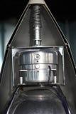 Detaljer av sputnik 2 Arkivbild
