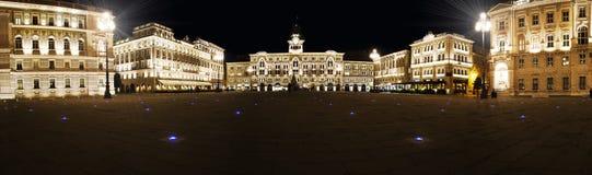 Detaljer av staden av Trieste Arkivbilder
