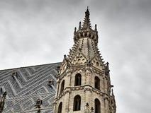 Detaljer av Sten Stephens Cathedral royaltyfria foton