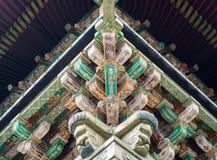 Detaljer av templet Royaltyfri Foto