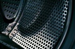 Detaljer av tvagningmaskinen royaltyfri fotografi