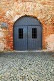 Detaljer för Belgrade fästningarkitektur Arkivbild