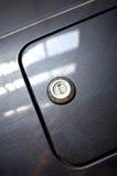 Detaljer för bilgasbehållare Arkivfoto