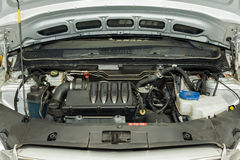 Detaljer för bilmotor Royaltyfri Foto