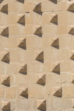 Detaljer för fasad för Jabalquinto slott huvudsakliga, Baeza, Spanien Royaltyfria Bilder