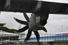 Detaljer för A400M Airbus Arkivbilder