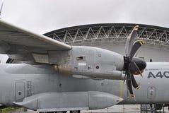 Detaljer för A400M Airbus Royaltyfria Bilder