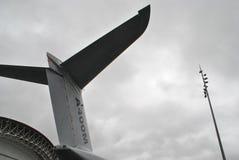 Detaljer för A400M Airbus Arkivbild