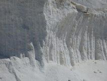Detaljer för naturligt hav för puré salta Royaltyfri Fotografi