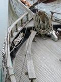 Detaljer för seglingskepp Royaltyfri Foto